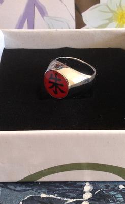 Кольцо Наруто/Naruto (Итачи) (фото, вид 1)
