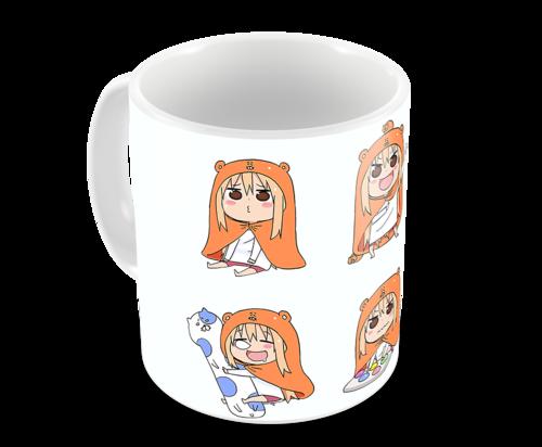 Кружка Двуличная сестрёнка Умару-чан!/Himouto! Umaru-chan (1) (фото, вид 2)