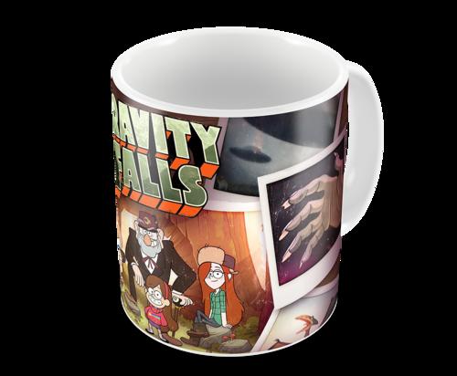 Кружка Гравити Фолз/Gravity Falls (фото, вид 1)