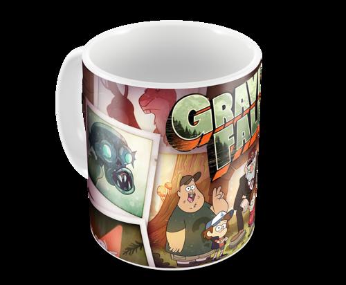 Кружка Гравити Фолз/Gravity Falls (3) (фото, вид 2)