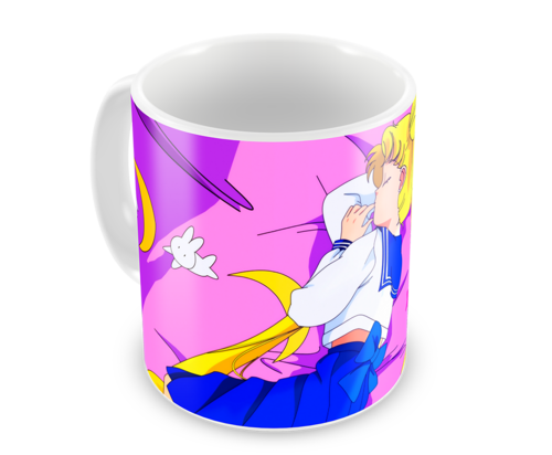 Кружка Сейлор Мун/Sailor Moon (фото, вид 2)