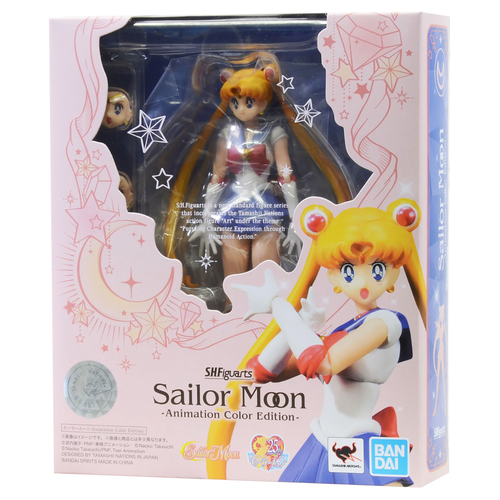Фигурка S.H.Figuarts Sailor Moon Animation Color Edition (фото, вид 1)