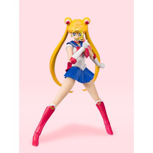 Фигурка S.H.Figuarts Sailor Moon Animation Color Edition (фото, вид 3)