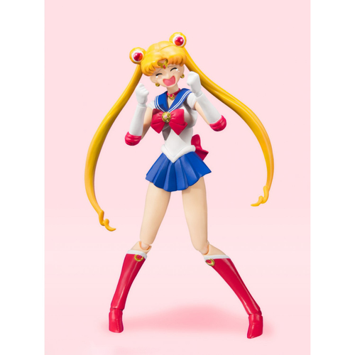 Фигурка S.H.Figuarts Sailor Moon Animation Color Edition (фото, вид 4)