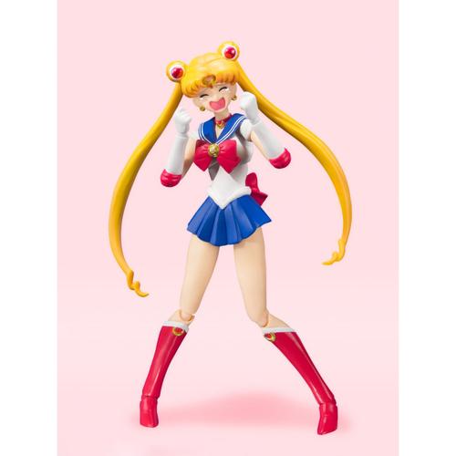 Фигурка S.H.Figuarts Sailor Moon Animation Color Edition (фото, вид 4)
