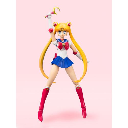 Фигурка S.H.Figuarts Sailor Moon Animation Color Edition (фото, вид 5)