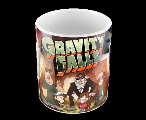 Кружка Гравити Фолз/Gravity Falls (фото)