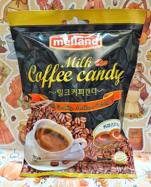 Карамель кофе с молоком
