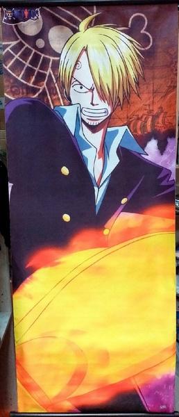Тканевый плакат Ван Пис/One Piece (Санджи)