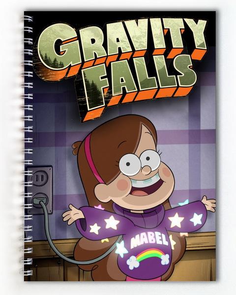 Тетрадь Гравити Фолз/Gravity Falls (4)