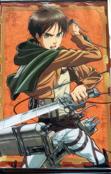 Тканевый плакат Атака Титанов/Shingeki no Kyojin (1)