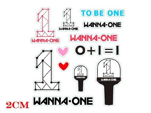 Наклейка Wanna One (2)