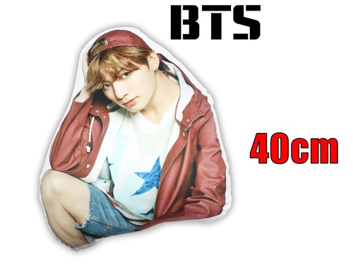 Декоративная фигурная подушка BTS (2)