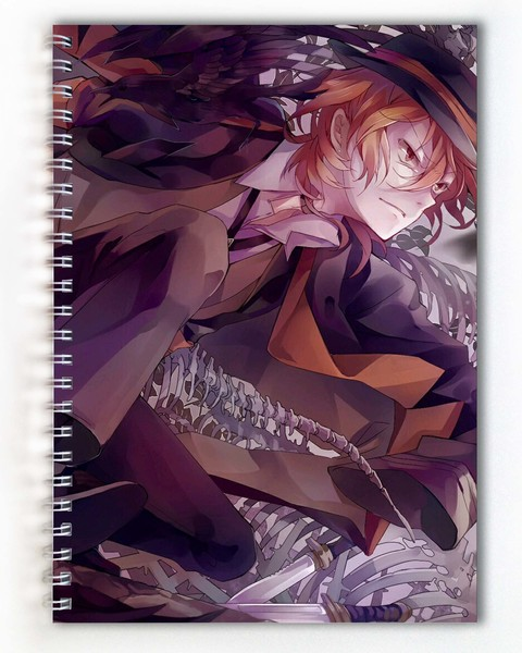 Тетрадь Великий из бродячих псов/Bungou Stray Dogs (4)