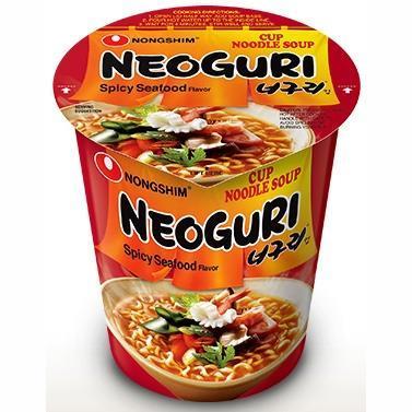 """Лапша быстрого приготовления """"Nongshim Neoguri Cup"""", со вкусом морепродуктов"""
