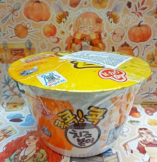 Лапша Ottogi со вкусом сыра, 95 г