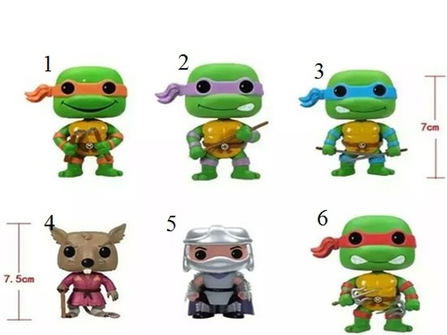 Набор фигурок Черепашки Ниндзя/Teenage Mutant Ninja Turtles