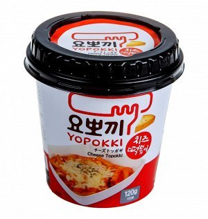 """Рисовые клецки """"Yopokki"""" с сырным соусом"""