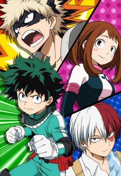 Тетрадь Моя геройская академия/Boku no Hero Academia (3)