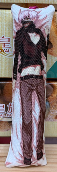 Мини-дакимакура Токийский Гуль/Tokyo Ghoul (Кен Канеки) (фото)