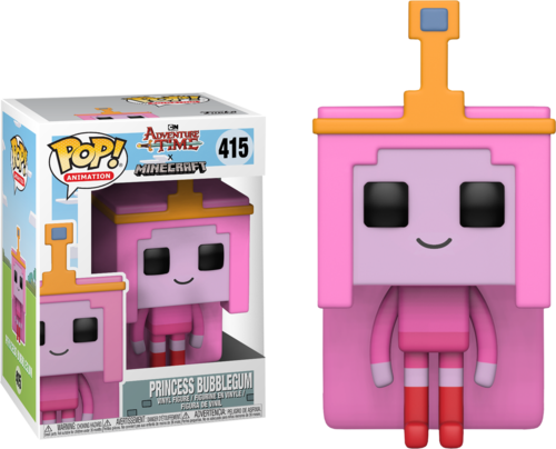 Фигурка Funko POP! Vinyl: Adventure Time/Minecraft S1: Princess Bubblegum