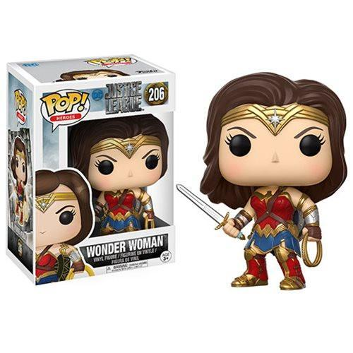 Фигурка Funko POP! Vinyl: DC: Justice League: Wonder Woman