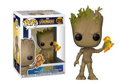 Фигурка Funko POP! Bobble: Marvel: Avengers Infinity War S2: Groot w/ Stormbreaker