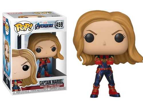 Фигурка Funko POP! Bobble: Marvel: Avengers Endgame: Captain Marvel