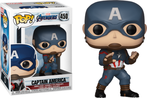 Фигурка Funko POP! Bobble: Marvel: Avengers Endgame: Captain America