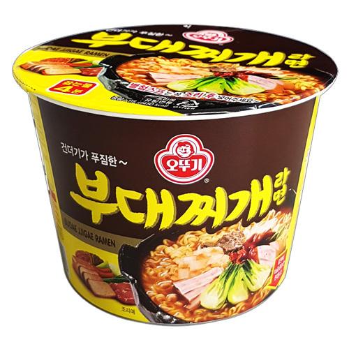 """Лапша быстрого приготовления """"Budae Jjigae Ramen"""" со вкусом мясного ассорти"""