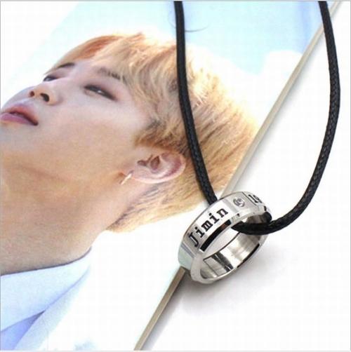 Кулон - кольцо BTS (Jimin)