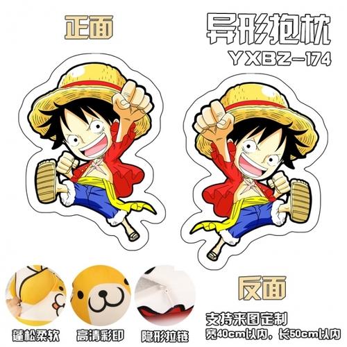 Декоративная фигурная подушка Ван Пис/One Piece