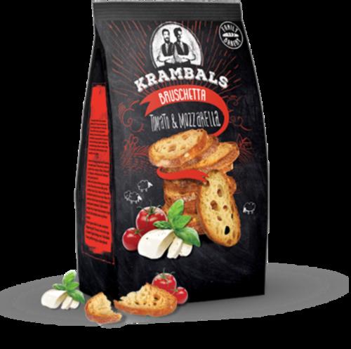 Брускетты Krambals Tomato&Mozzarella