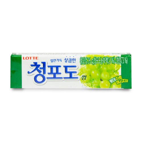 Жевательная резинка Green grape