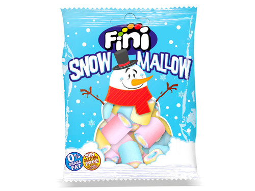 """Суфле """"Палочки разноцветные"""" Снеговик"""