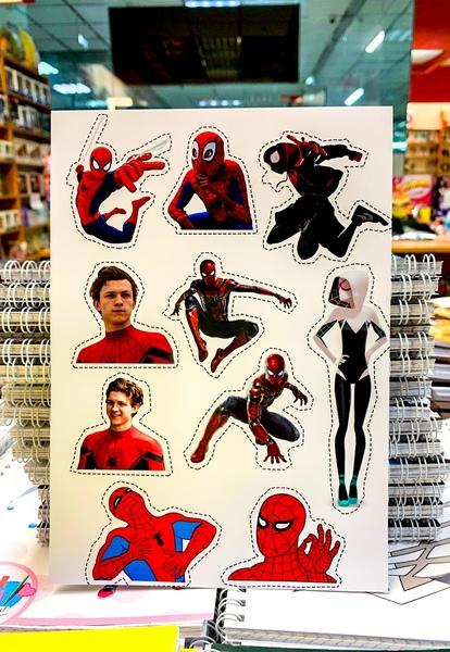 Лист наклеек Человек-паук / Spider-Man