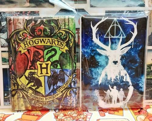 Обложка на паспорт Гарри Поттер/Harry Potter (фото)