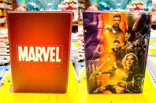 Обложка для паспорта Marvel