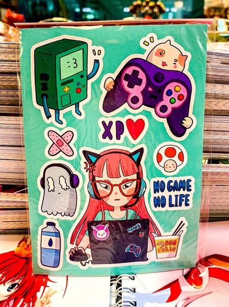 Mini Pack Gamer girl