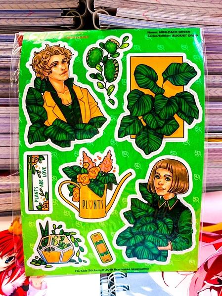 Mini Pack Green