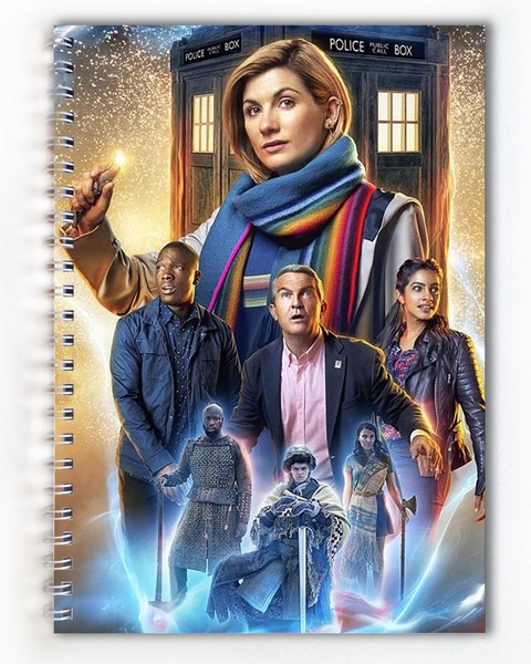 Тетрадь Доктор Кто / Doctor Who (3)