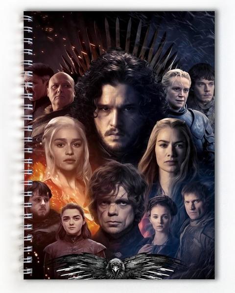 Тетрадь Игра престолов/Game of Thrones (2)