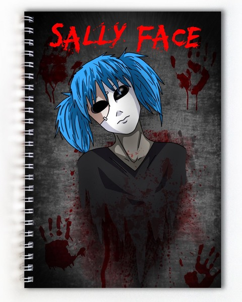 Тетрадь Sally Face (3)