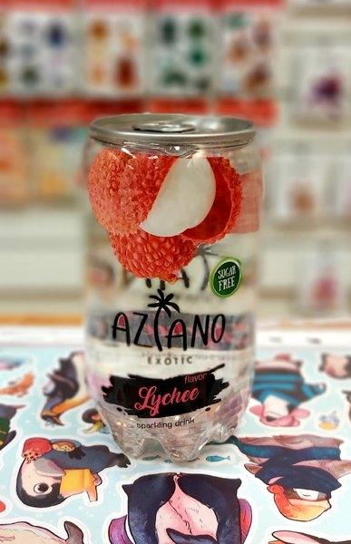 Газированный напиток Aziano Lychee
