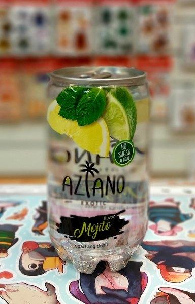 Газированны напиток Aziano Mojito
