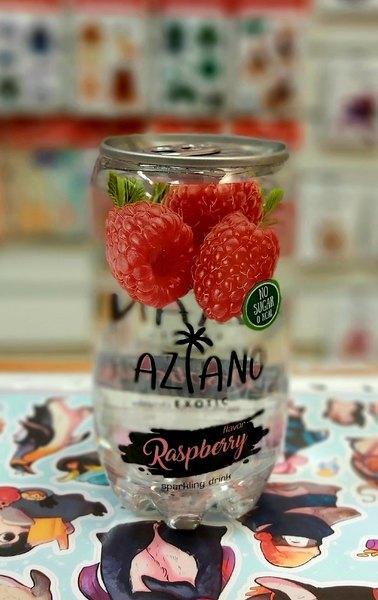 Газированный напиток Aziano Raspberry