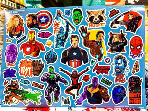 Pack Avengers