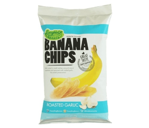 Банановые Чипсы Everything Banana с Обжаренным чесноком
