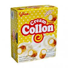 Печенье Glico Collon с ванильным кремом