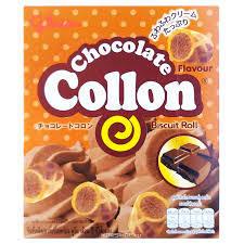 Печенье Glico Collon с шоколадным кремом